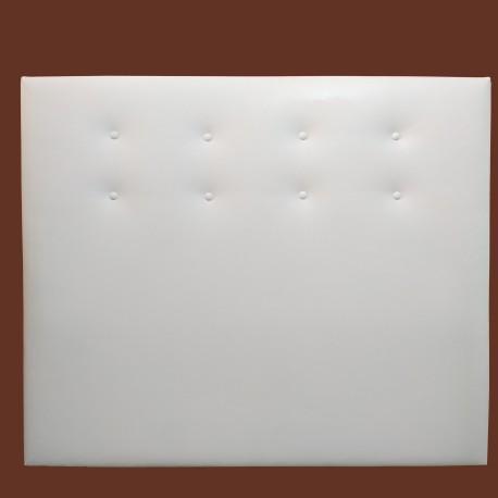 Cabezal tapizado polipiel 90x120x7 colchon 80cm